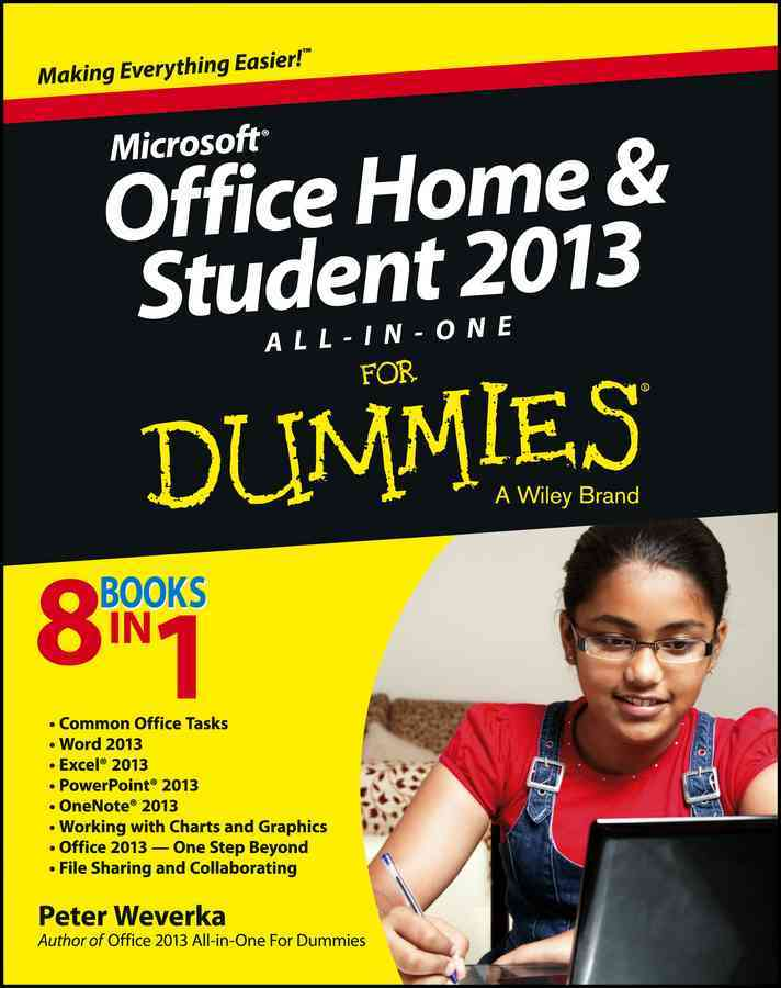 Microsoft Office Home & Student Edition 2013 By Weverka, Peter